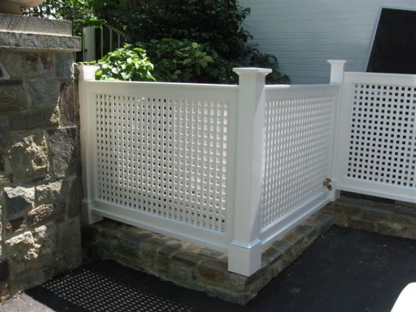 Remodeling Design Ideas 4 Tips For Installing Screening Hvac Fences on decorative trash cans
