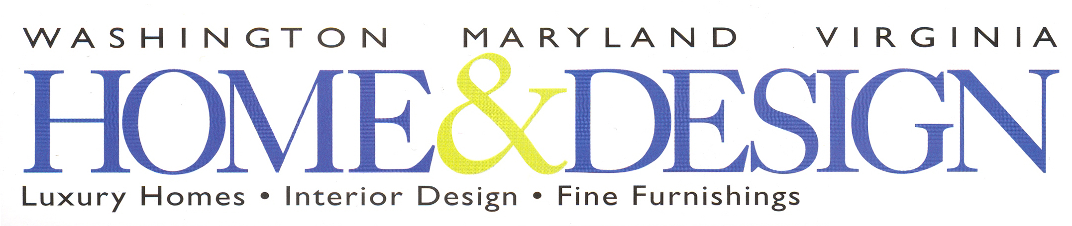 Washington Maryland Virginia Home & Design Logo