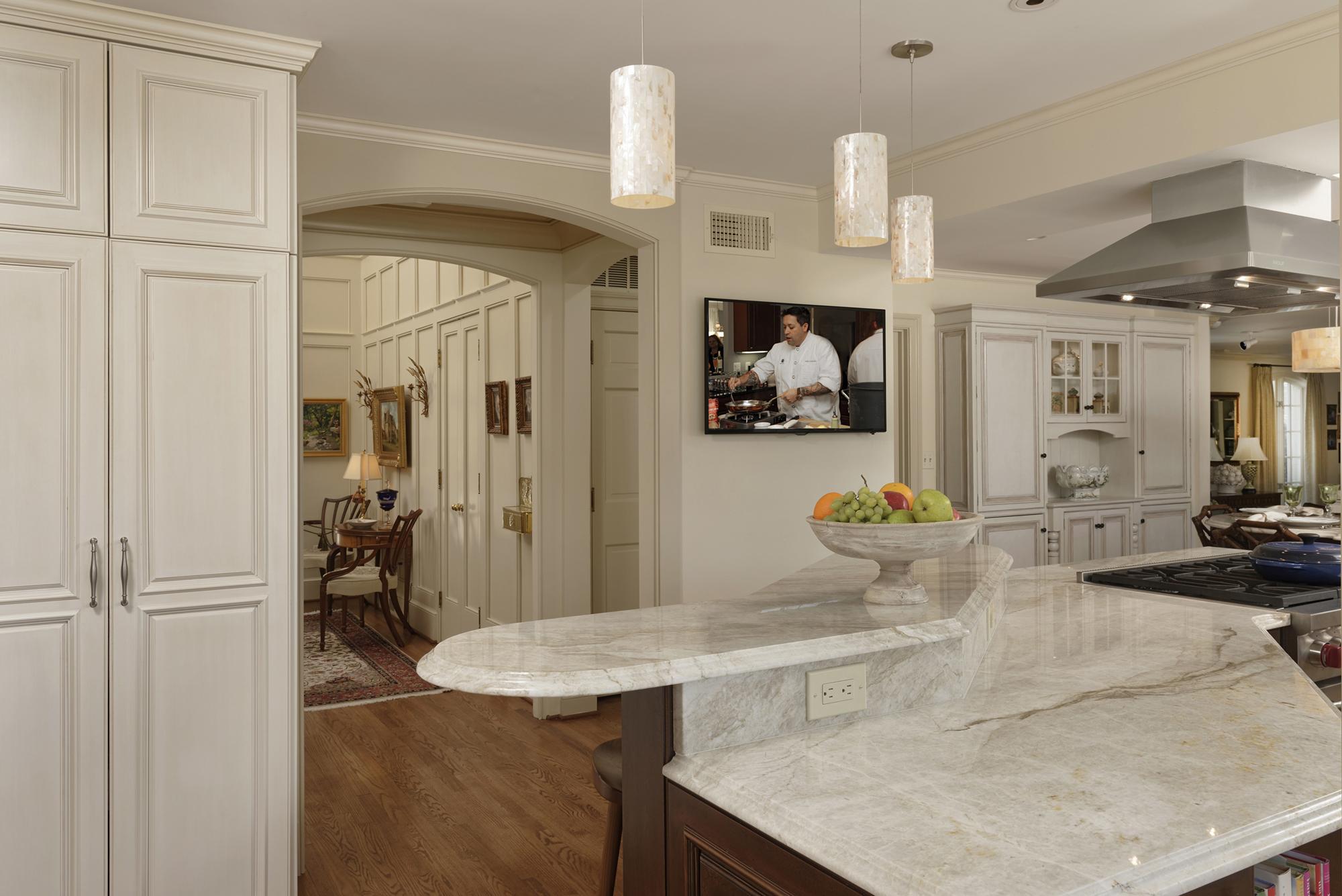 "Gorgeous Kitchen Renovation In Potomac Maryland: ""Cook's Kitchen"" Renovation In Potomac, Maryland"