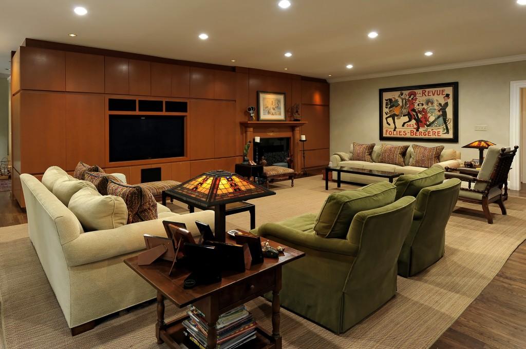 Great Falls VA Whole House Renovation Family Room