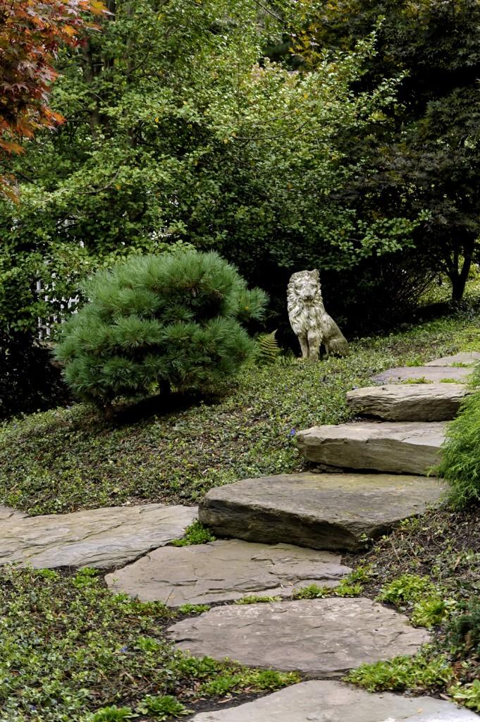 Great Falls VA Renovation Stone Path