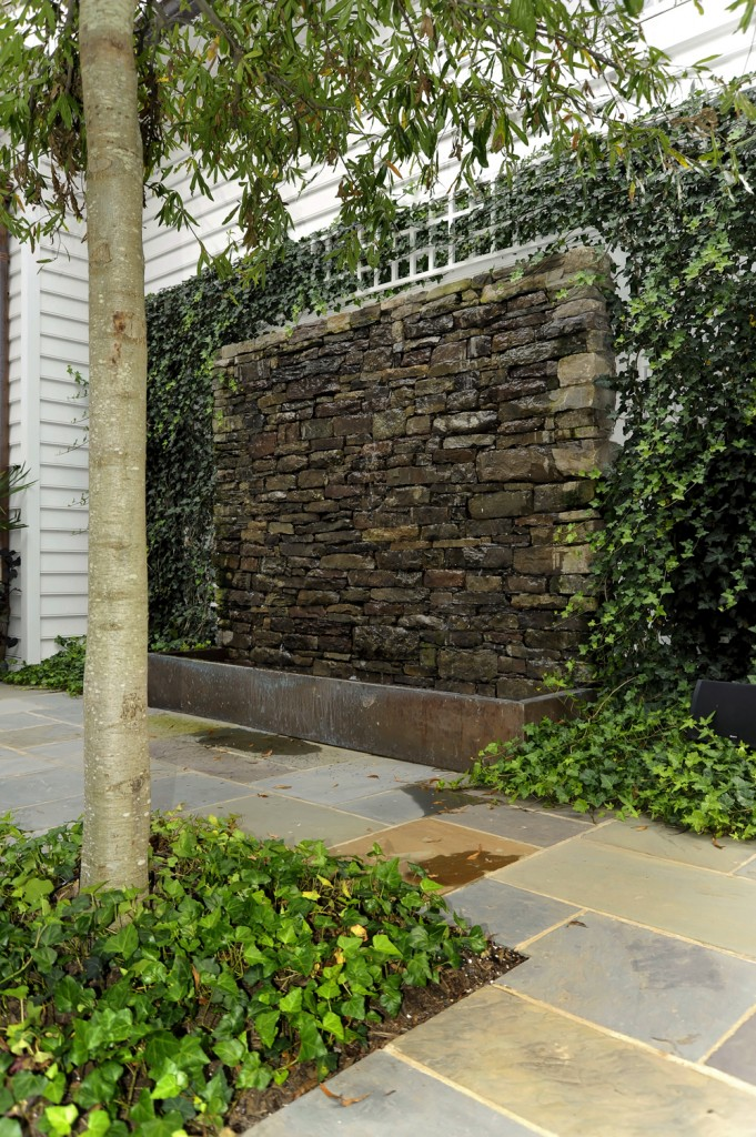 Great Falls VA Renovation Stone Wall