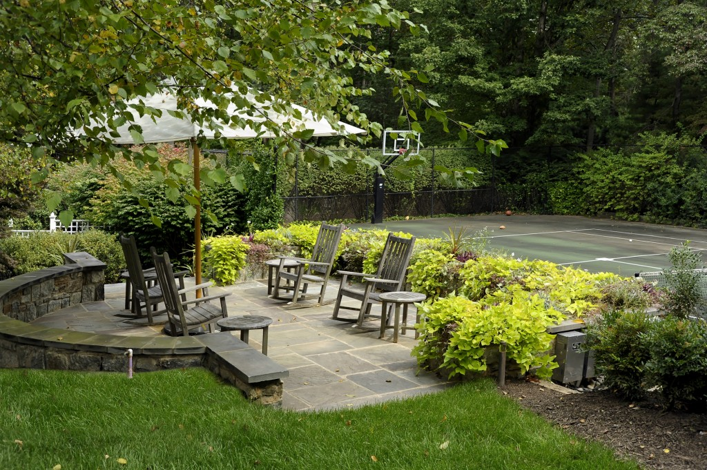 Great Falls VA Renovation Outdoor Sitting Area
