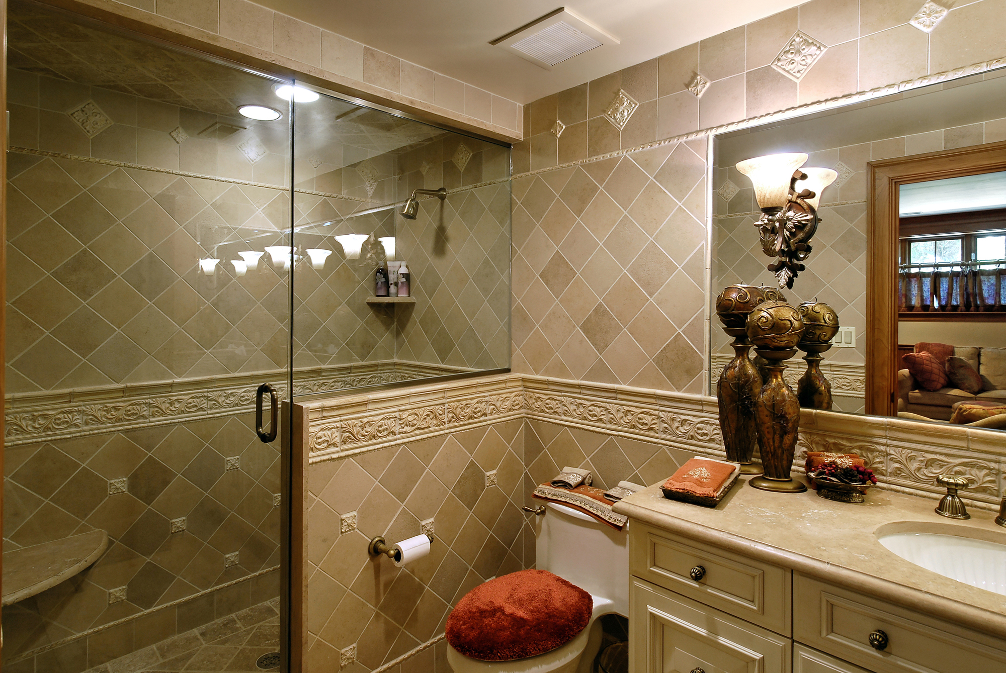 Cost of bathroom remodel remodel cost per square foot for Bathroom remodel order of tasks