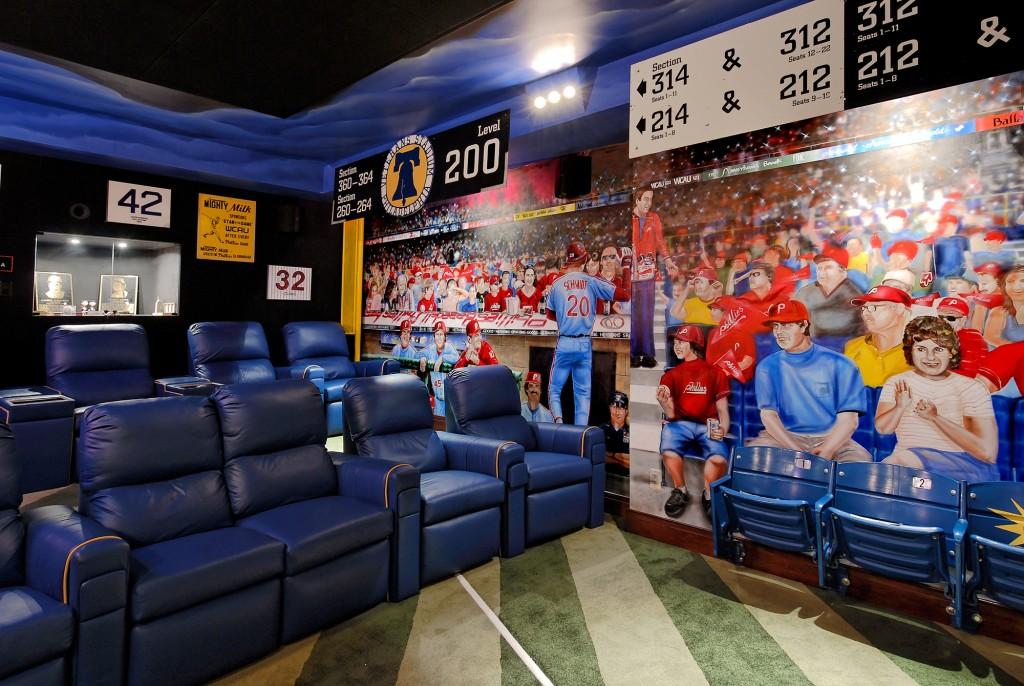 Potomac MD Renovation Theater