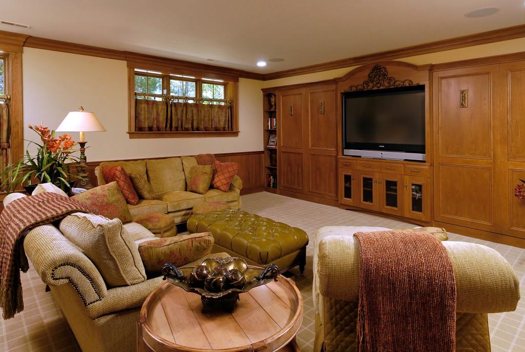 Potomac MD Renovation Family Room