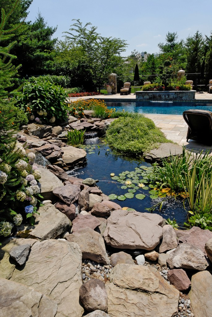 Potomac MD Renovation Water Feature