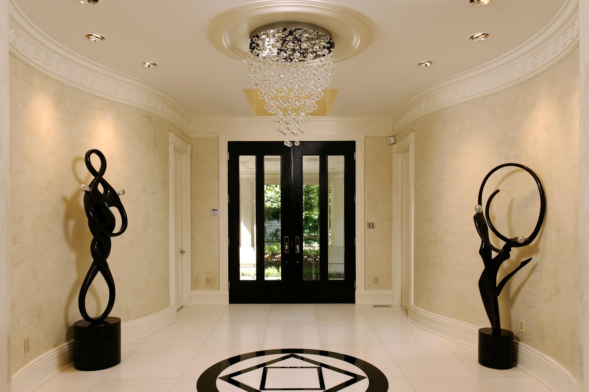 Spectacular contemporary renovation in washington dc bowa foyer arubaitofo Image collections