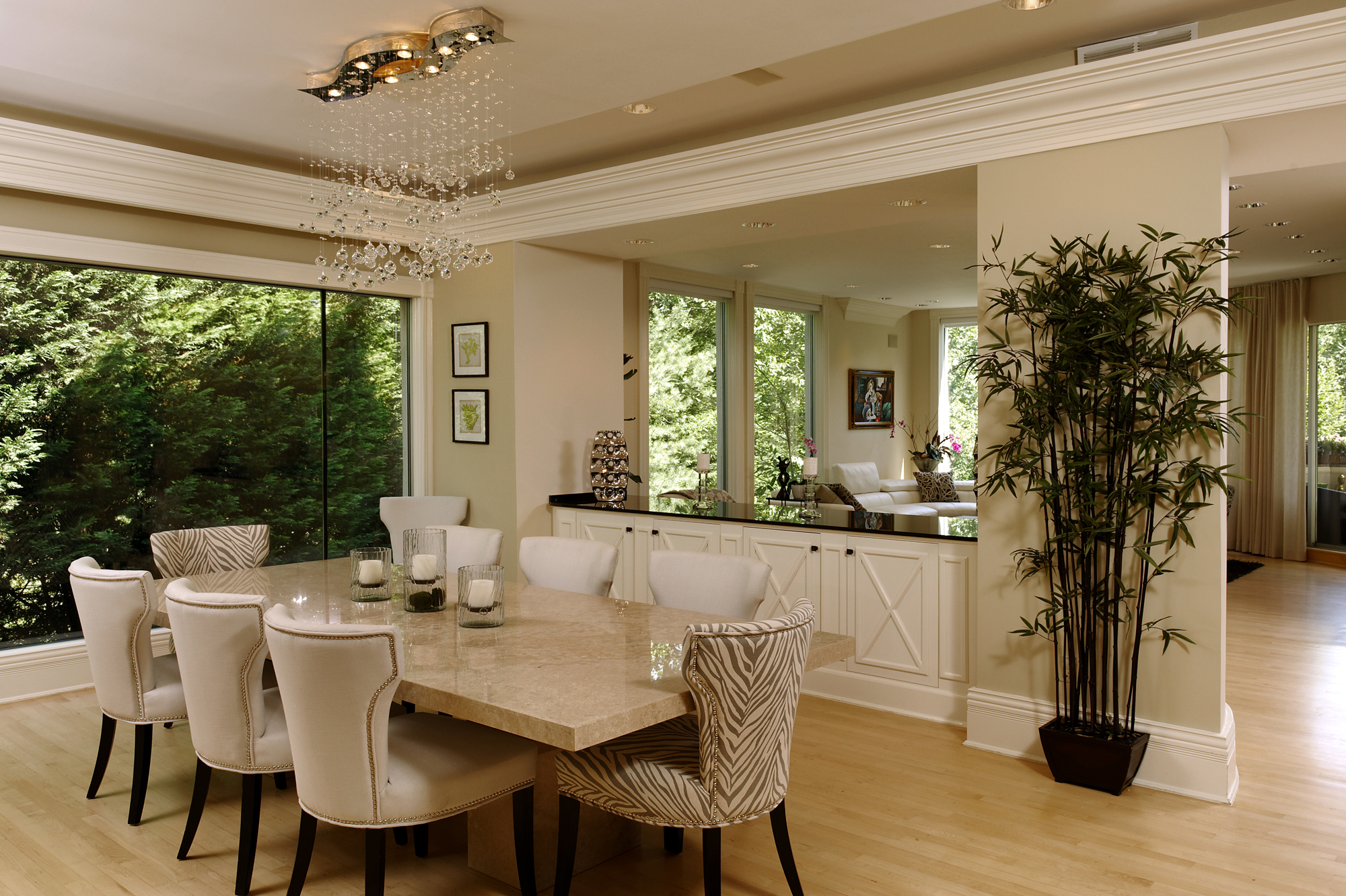 Exceptionnel Washington DC Contemporary Interior Renovation Dining Room