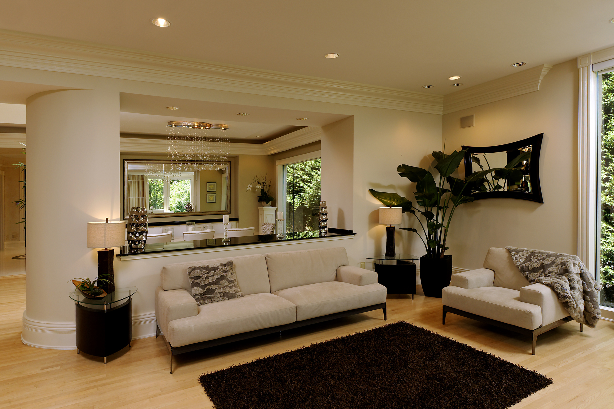 amazing living room interior colors | Spectacular Contemporary Renovation in Washington, D.C. | BOWA
