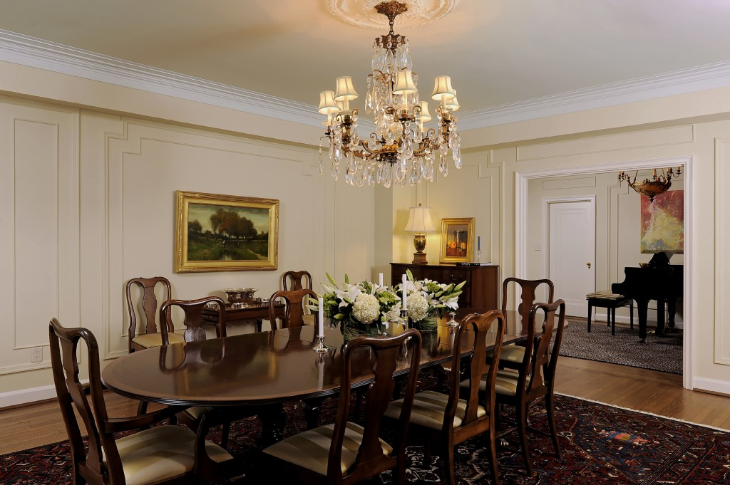 Washington DC Condo Renovation Dining Room