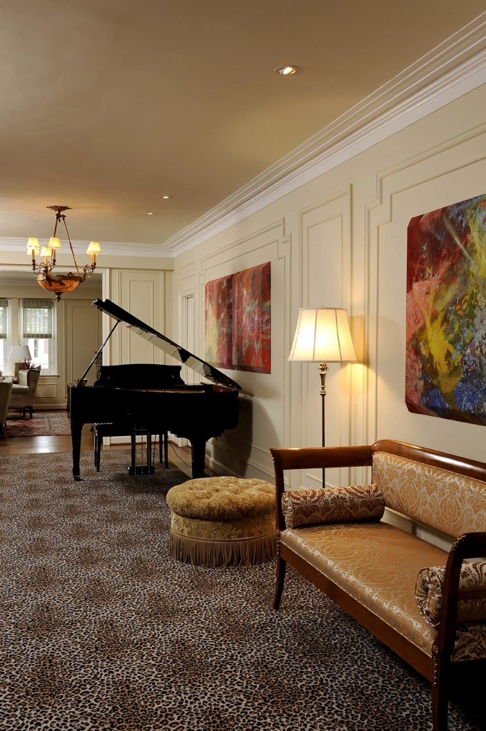 Washington DC Condo Renovation Piano Room