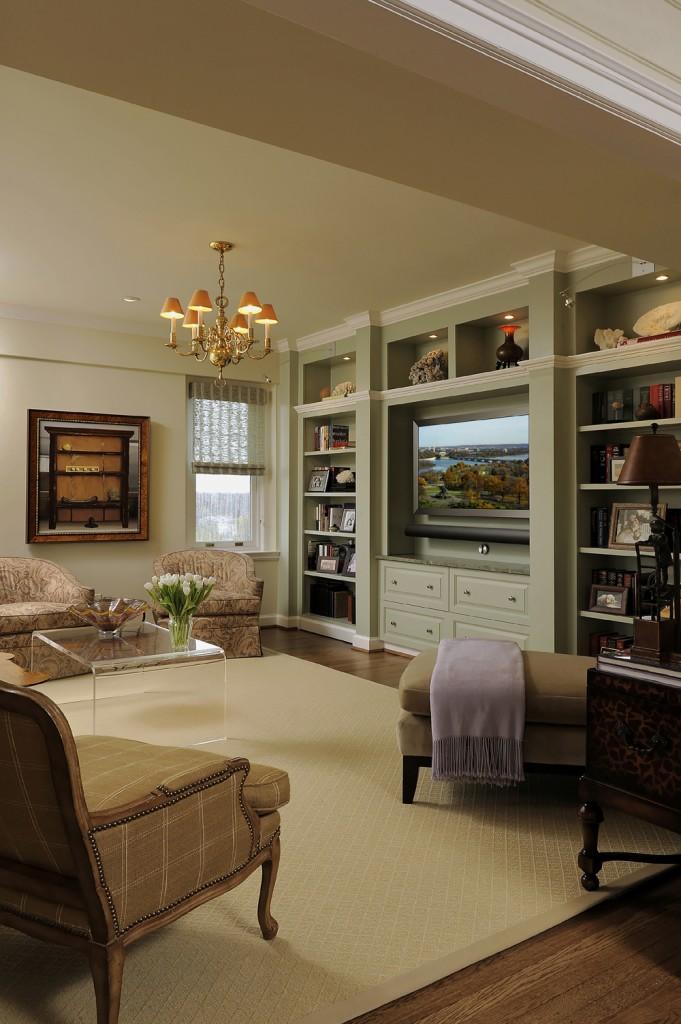 Washington DC Condo Renovation Family Room