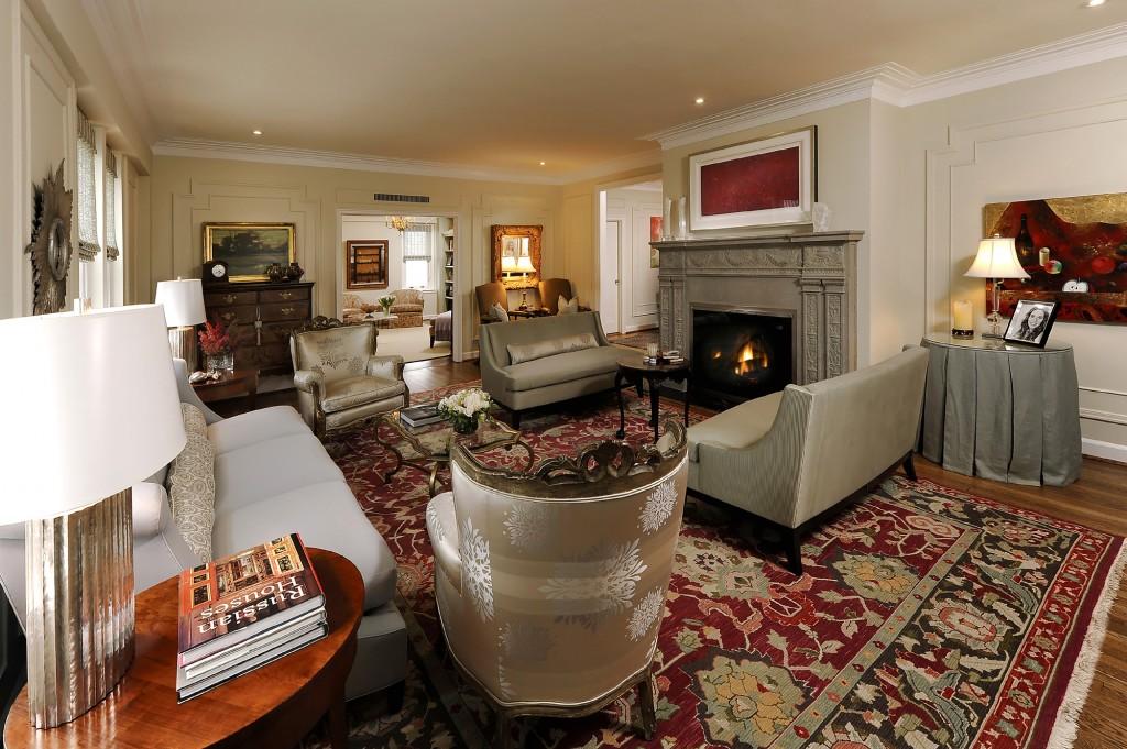 CRV-Washington-DC-Condo-Renovation-living-room-fireplace