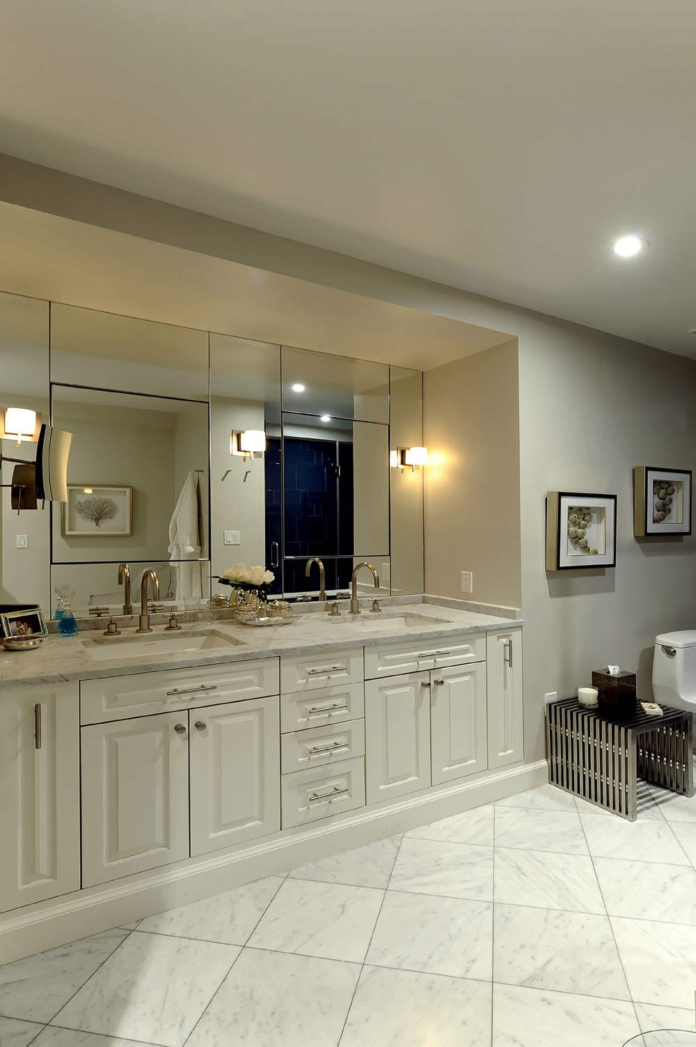 Northwest Washington DC Condominium Renovation BOWA - Condo bathroom renovation