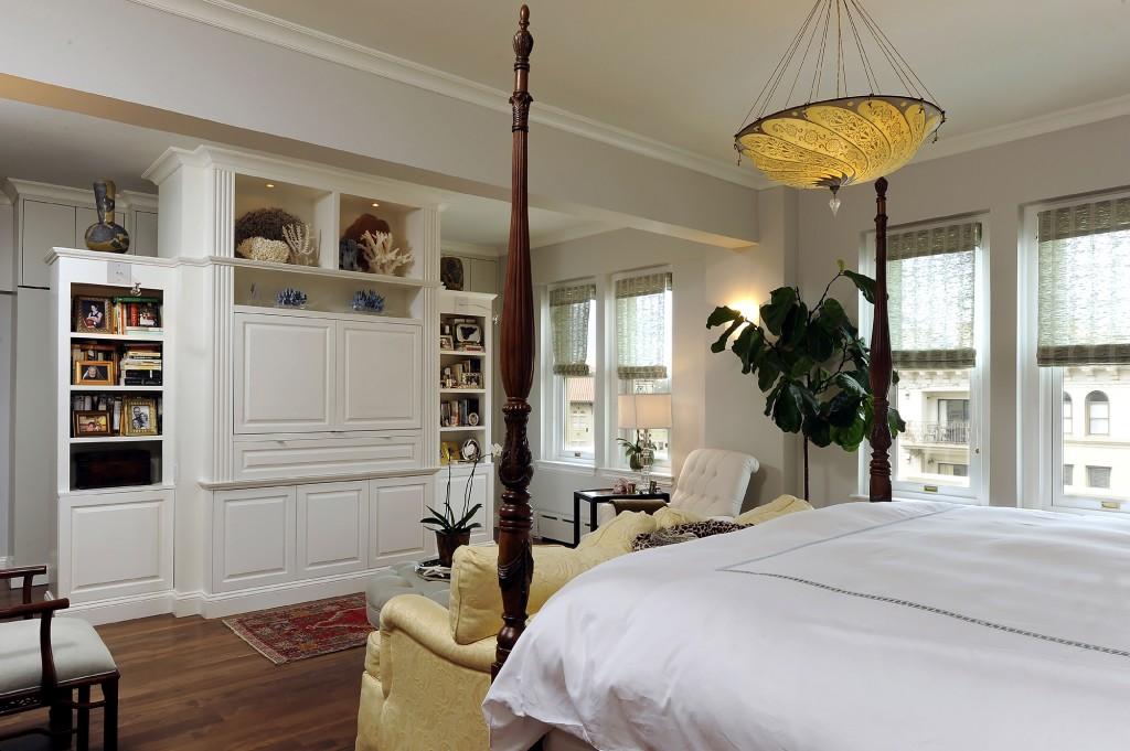 Washington DC Condo Renovation Master Bedroom