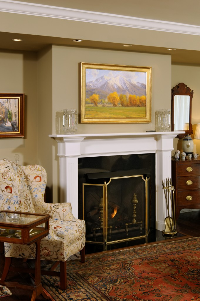 Washington DC Condo Renovation Fireplace