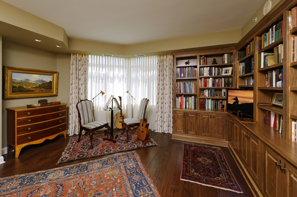 Washington DC Condo Renovation Library