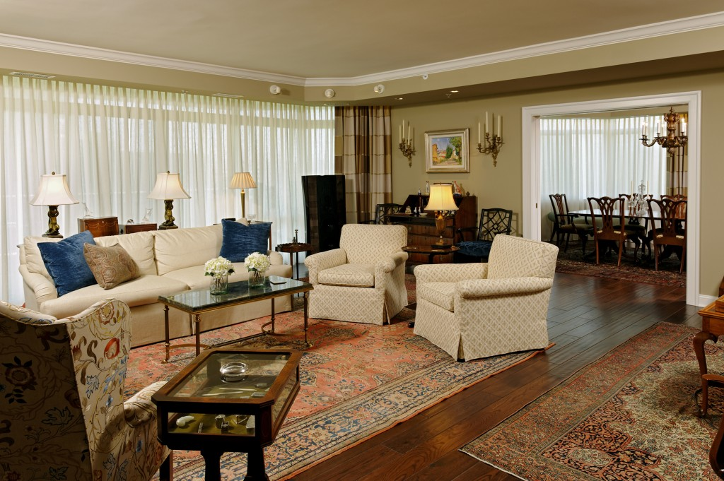 Washington DC Condo Renovation Living Room