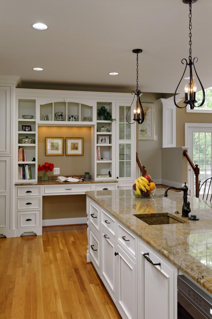 Great Falls VA Kitchen Renovation Desk