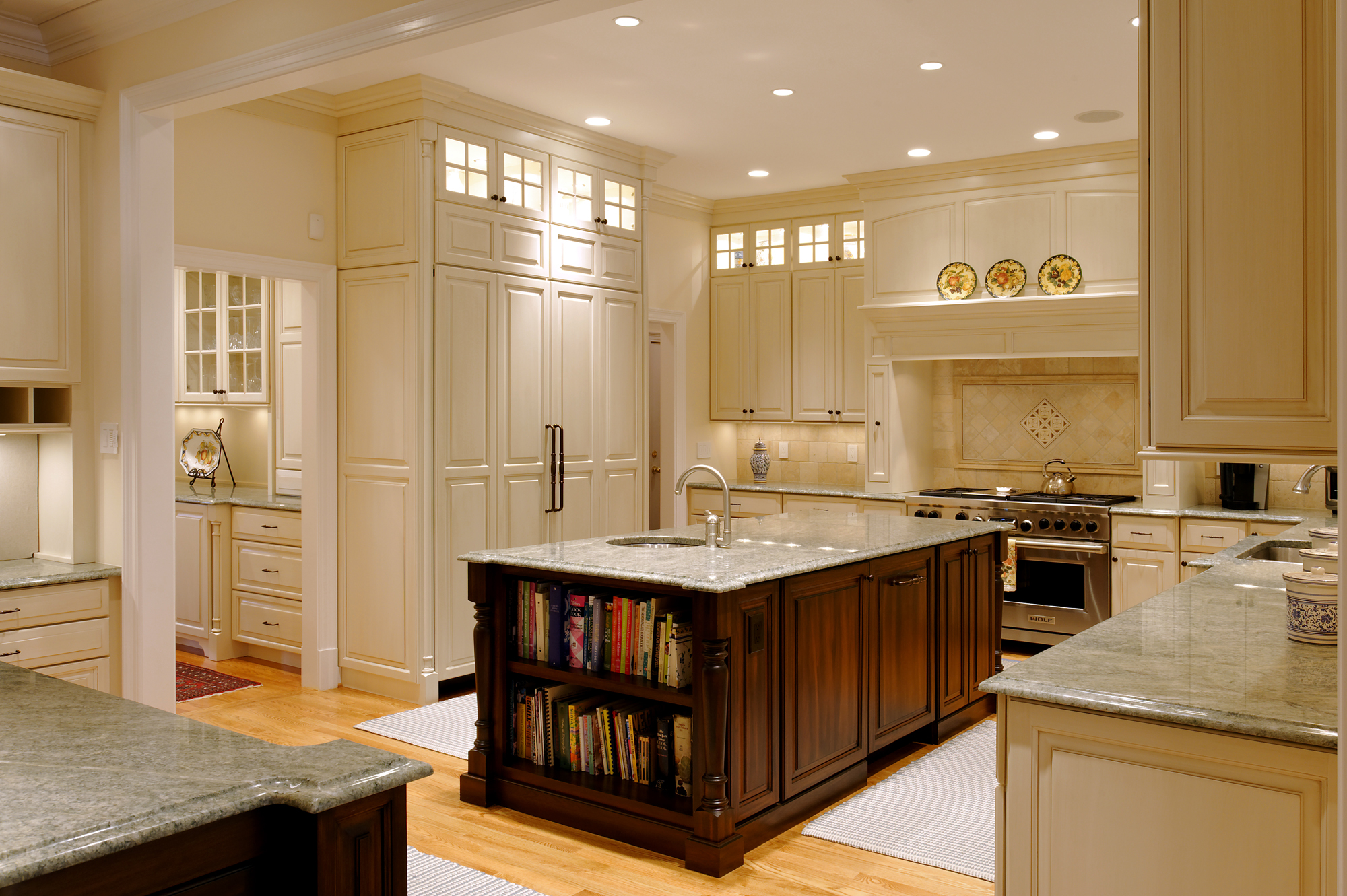 mclean, virginia kitchen renovation and screened porch addition | bowa