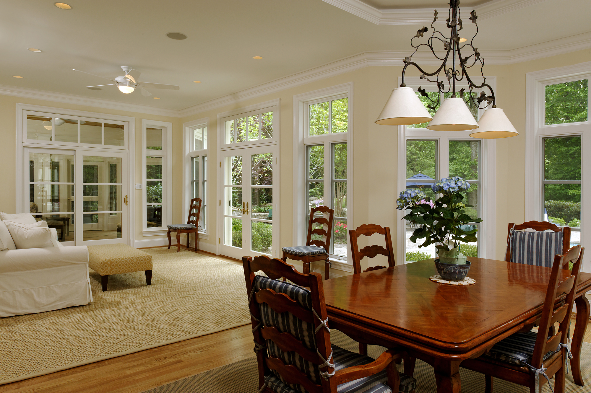 Mclean Virginia Kitchen Renovation And Screened Porch Addition Bowa