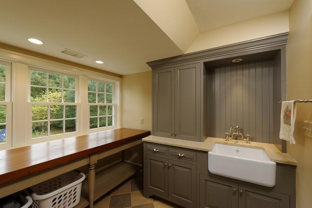 Potomac MD Renovation Laundry Room