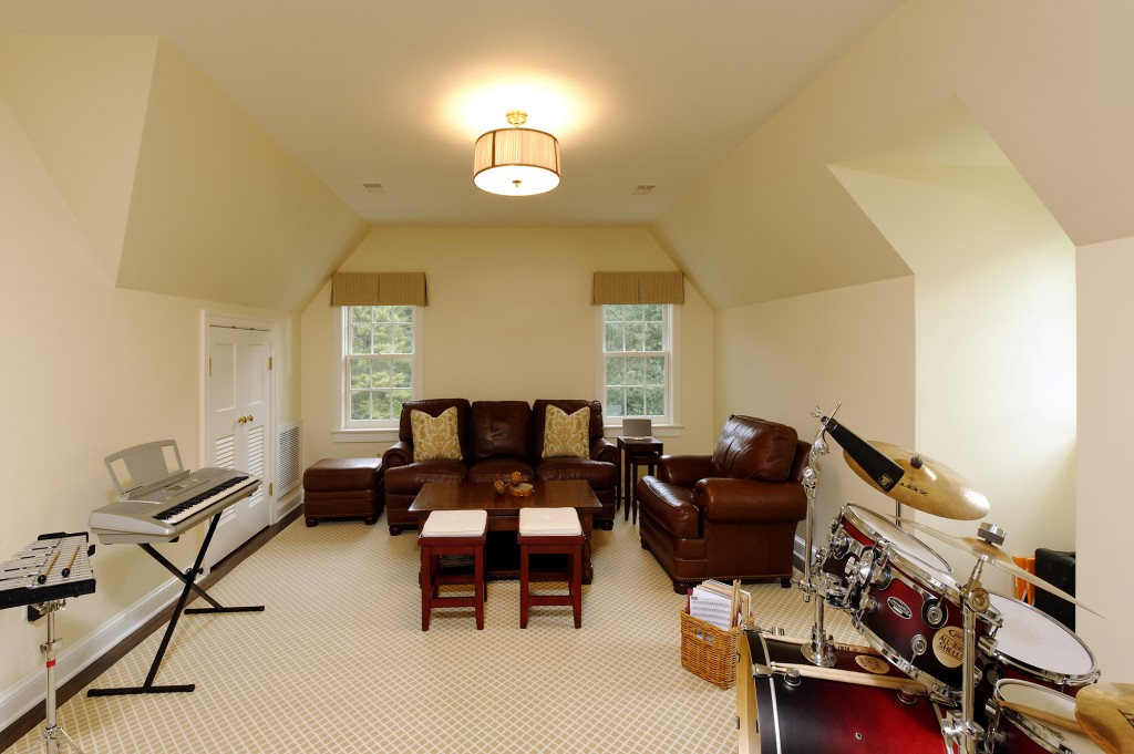 Potomac MD Renovation Music Room