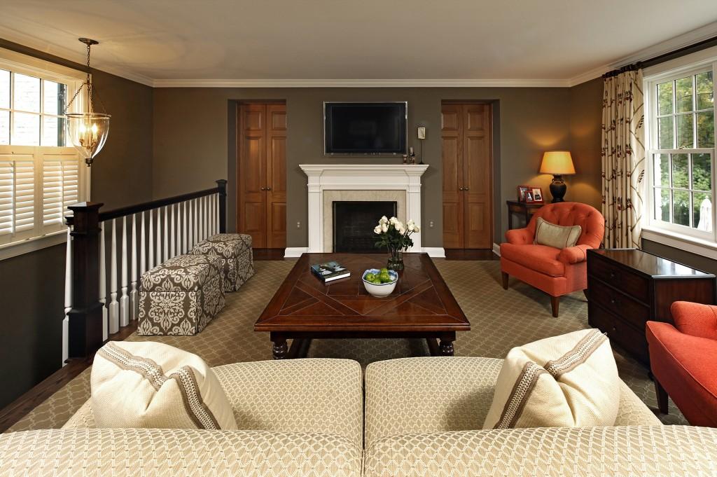 Potomac MD Renovation Sitting Room
