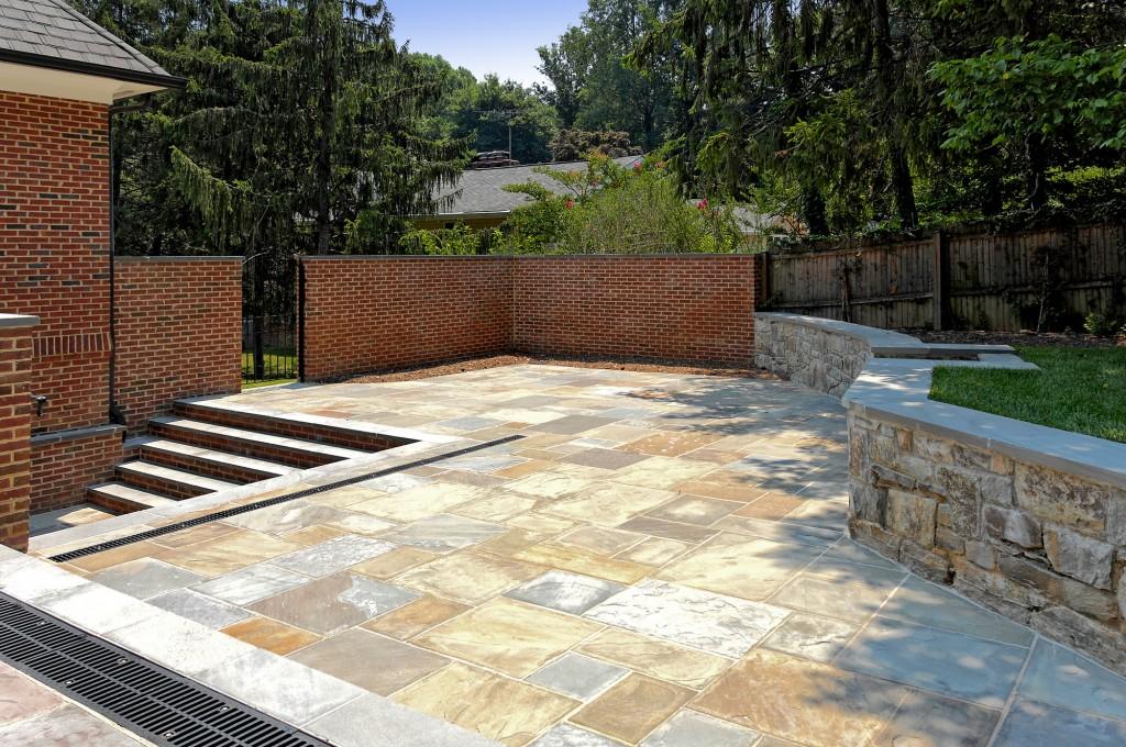 NEW-McLean-va-basement-office-entrance-patio-hardscape