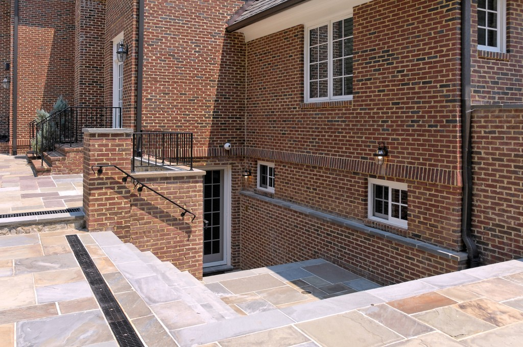 McLean VA Basement Office Entrance Stairs