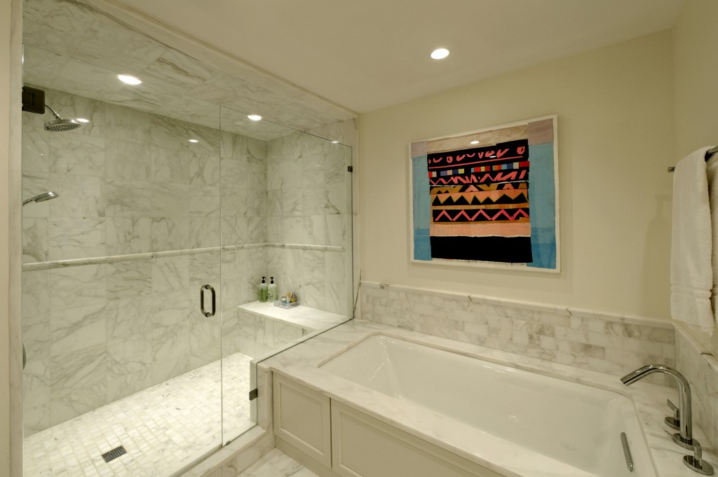 Chevy Chase MD Condominium Renovation Bathroom