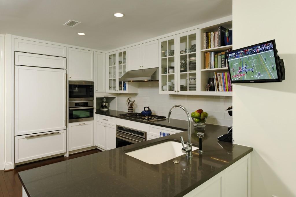 Chevy Chase MD Condominium Renovation Kitchen