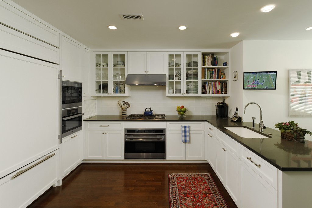 Chevy Chase MD Condominium Renovation Kitchen