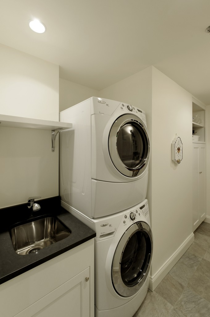 Chevy Chase MD Condominium Renovation Laundry Room