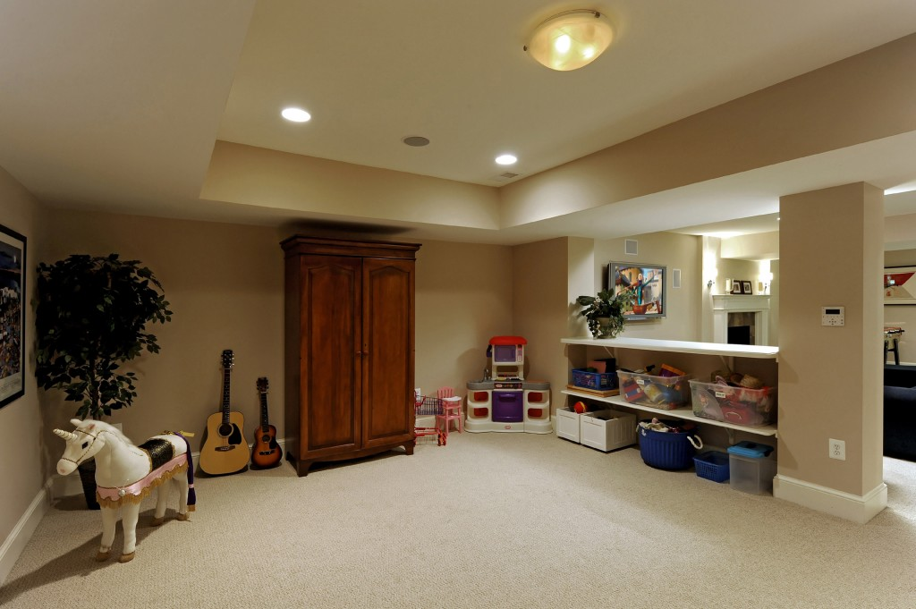 Great Falls VA Renovation Playroom