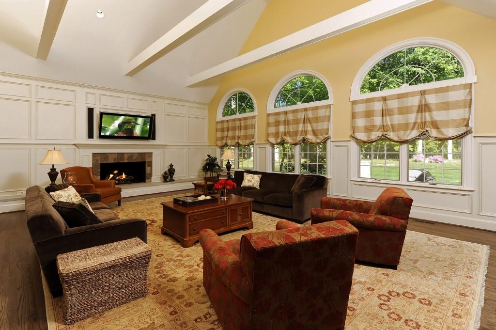 Great Falls VA Renovation Family Room