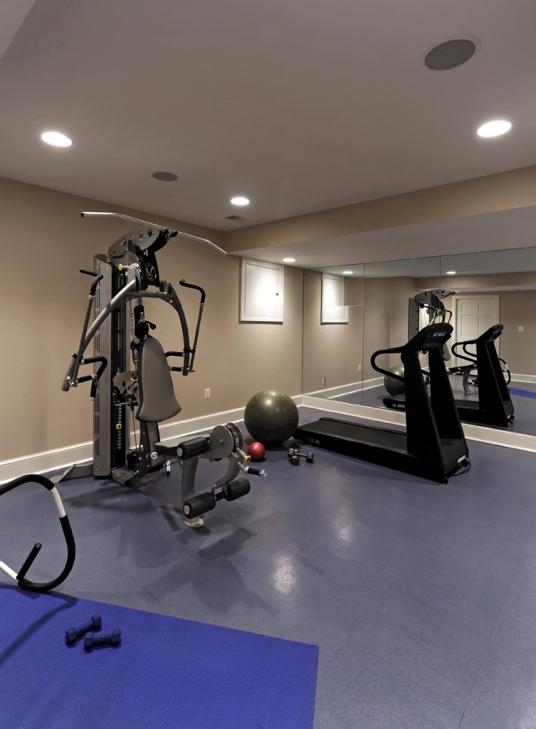 Great Falls VA Renovation Home Gym
