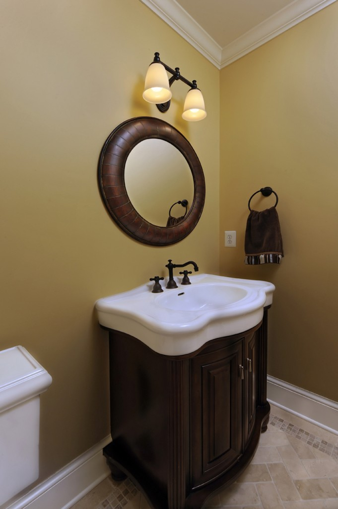 Great Falls VA Renovation Powder Room