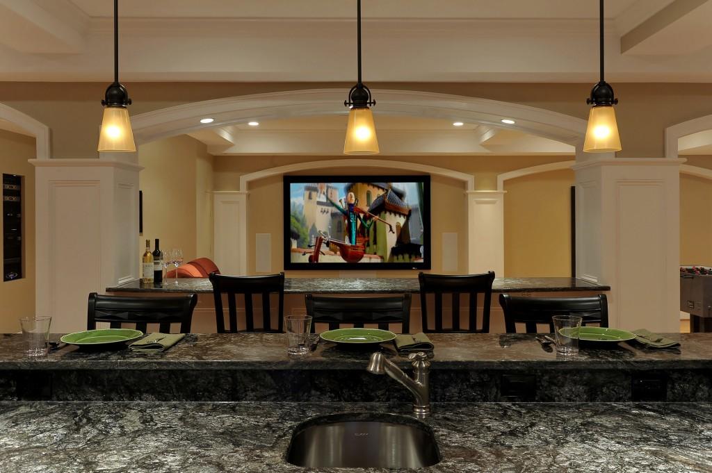Ashburn VA Design Build Renovation Bar