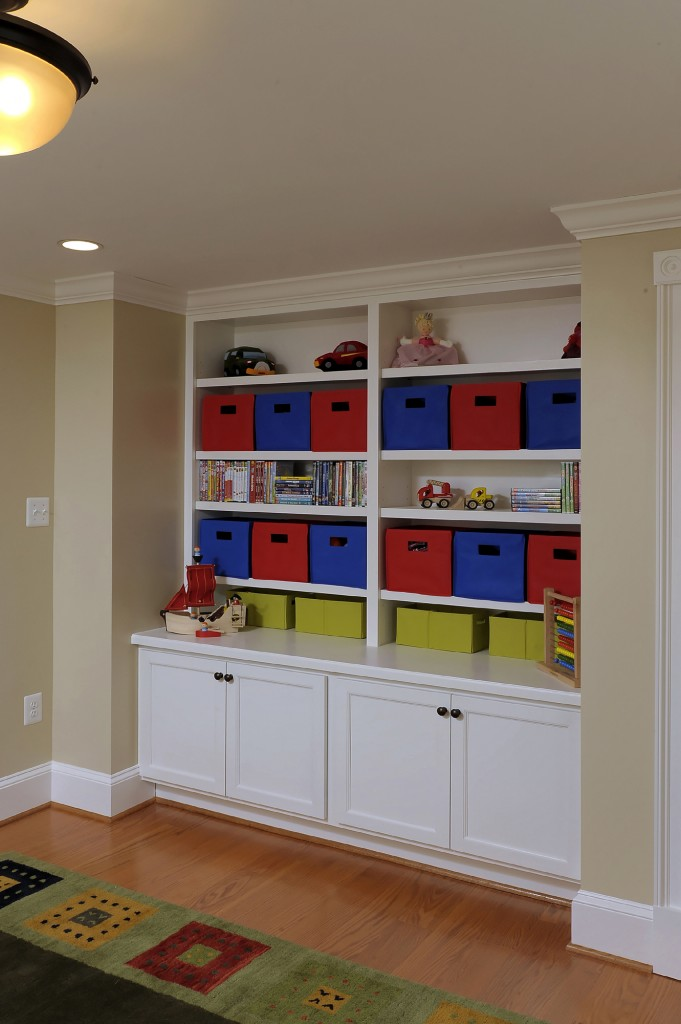 Ashburn VA Design Build Renovation Kids Room