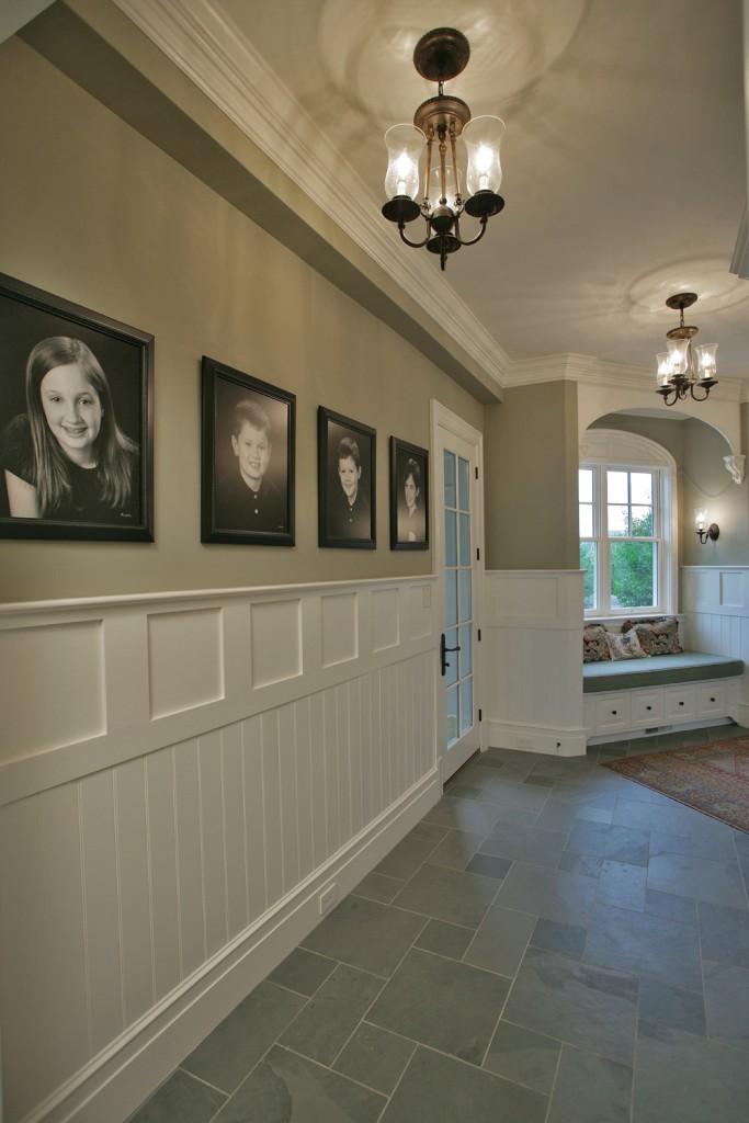 Great Falls VA Traditional Foyer