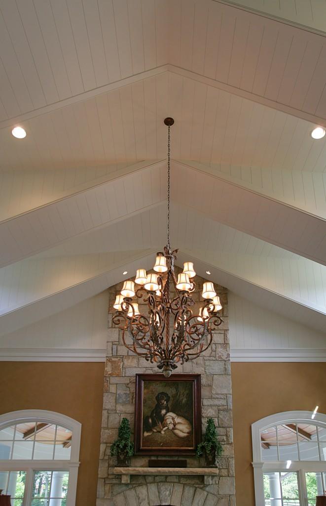 Great Falls VA Traditional Family Room