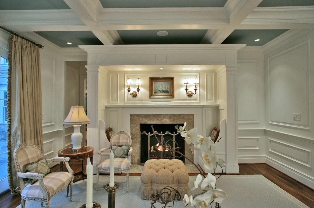Great Falls VA Traditional Living Room