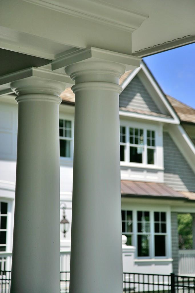 Great Falls VA Traditional Columns