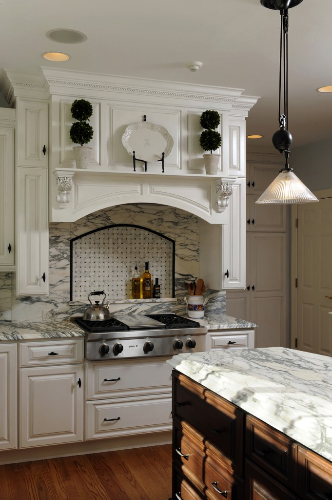 McLean VA Kitchen Renovation Stove