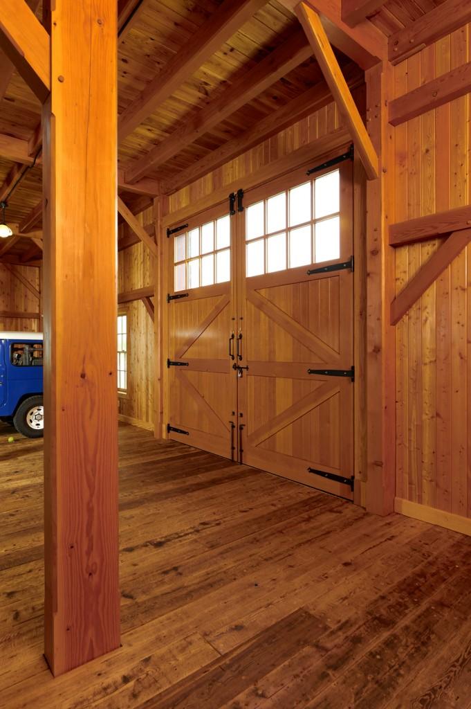 Timberframe Barn Door
