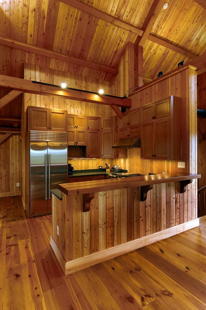 Timberframe Barn Kitchen