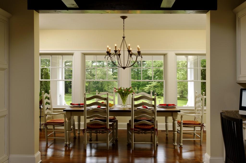 Great Falls VA Renovation Breakfast Room