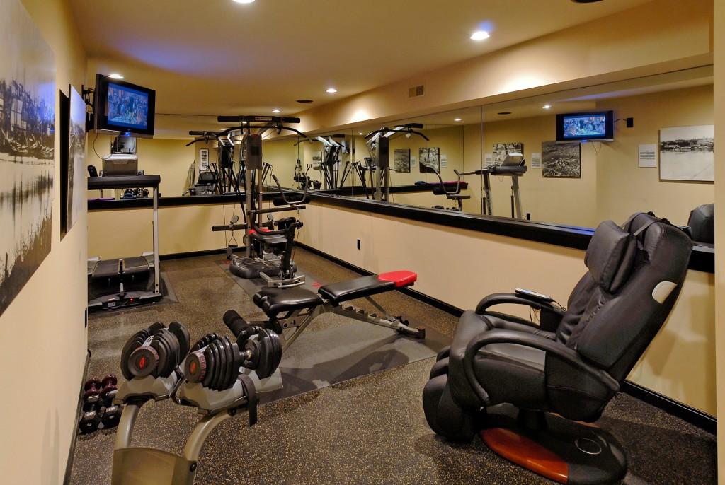 Arlington VA Renovation Home Gym